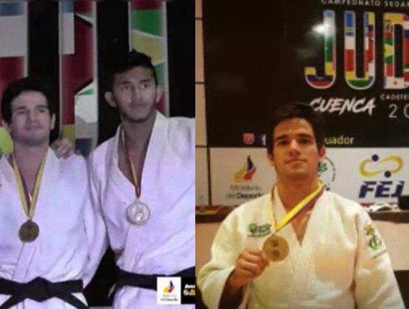 Cesarense Arkángel Barboza se colgó medalla de oro en Sudamericano de Judo