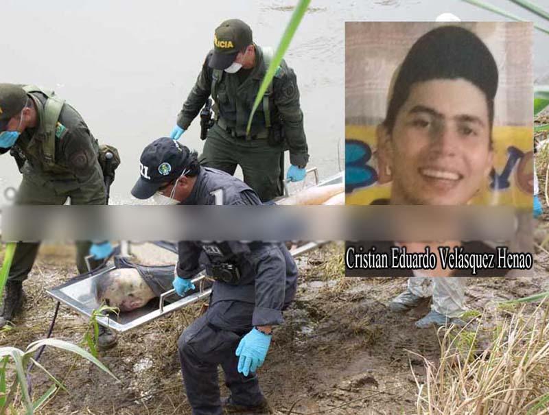 Como Cristián Velásquez fue identificado el cuerpo hallado en el río Guatapurí