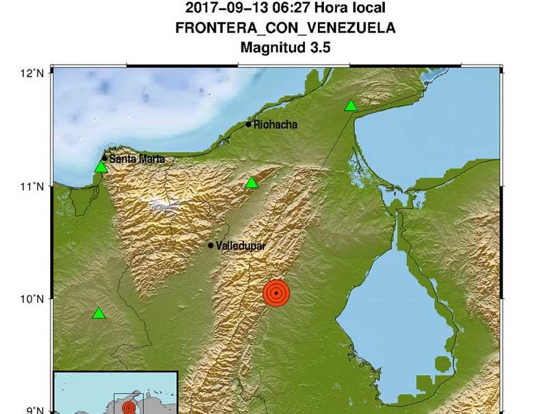 Dos sismos sacudieron el norte y suroeste de Colombia