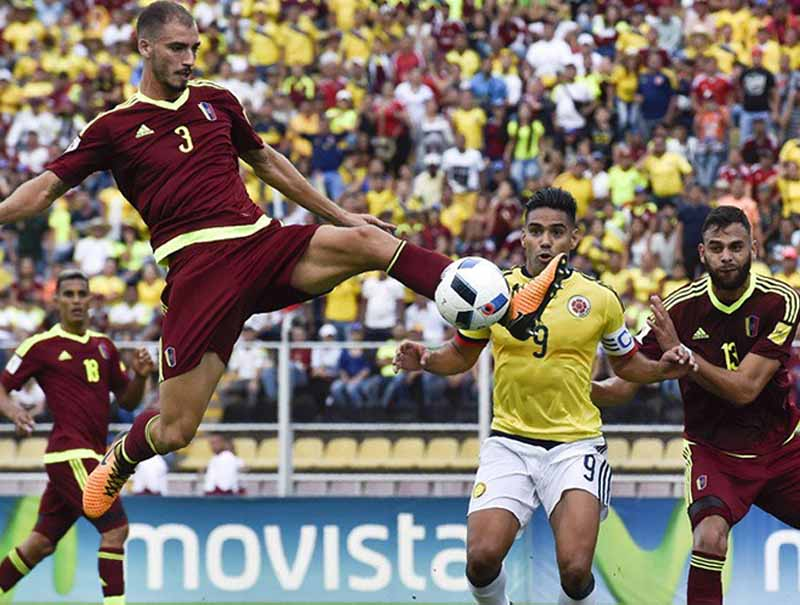 Selección Colombia suma un punto en su visita a Venezuela