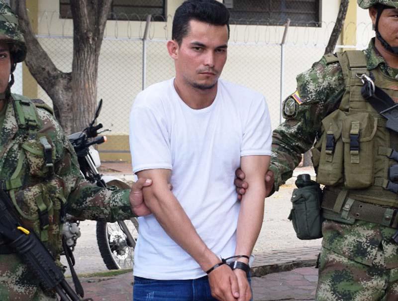 Ejército captura a alias Darwin, presunto mensajero del Epl Los Pelusos