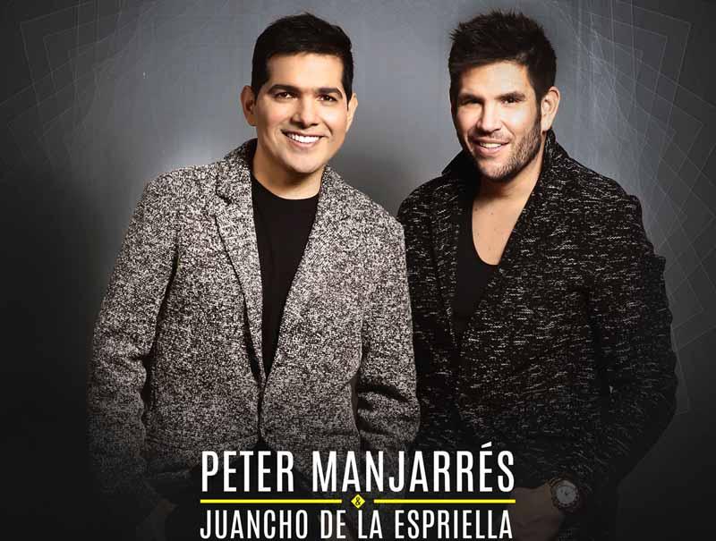 """Peter Manjarrés & Juancho llevan """"Lo Que Tú Querías, Un Vallenato"""" por toda Colombia"""