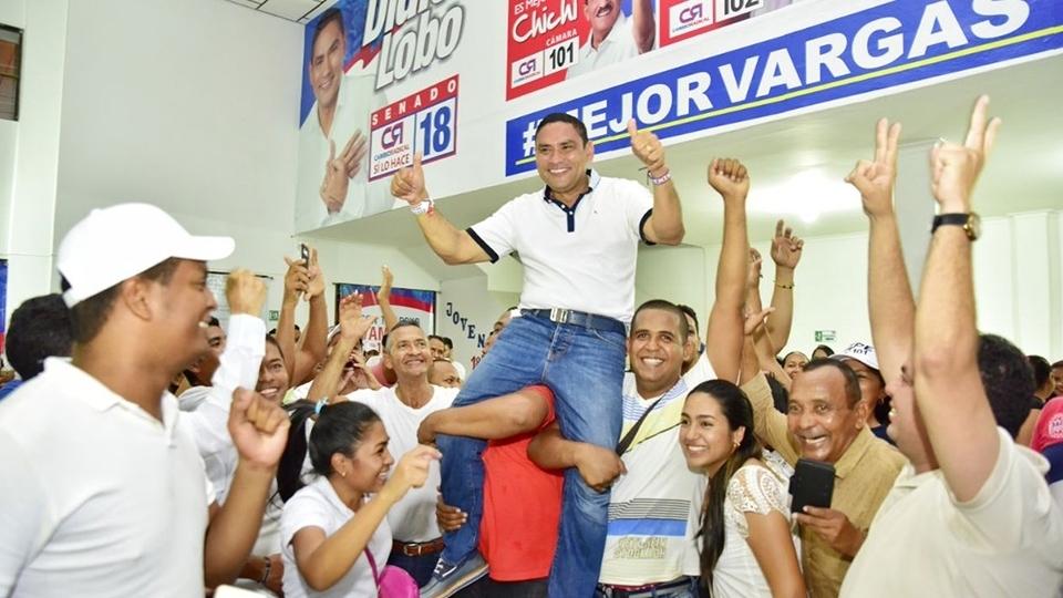 Didier Lobo gana curul a Senado en elecciones del Cesar